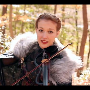Savannah Hatcher in Heroes And Villains Music Video