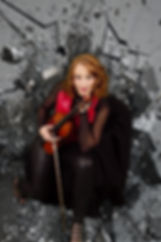 Pop-Violinist Savannah Hatcher The Glass Ceiling