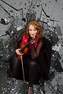 Pop-Violinist Savannah Hatcher The Glass Ceiling