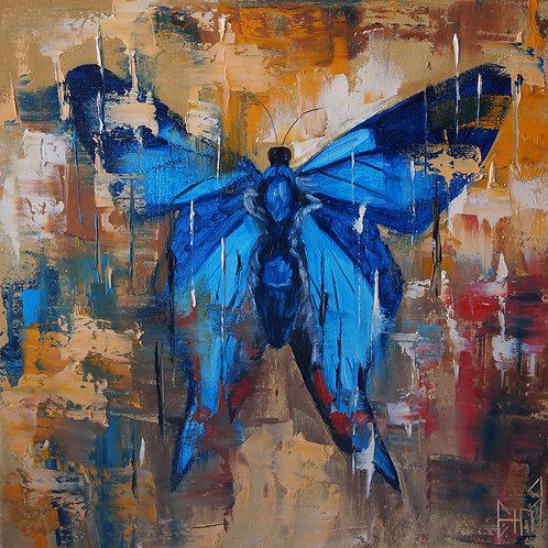 Королевская голубая Бабочка