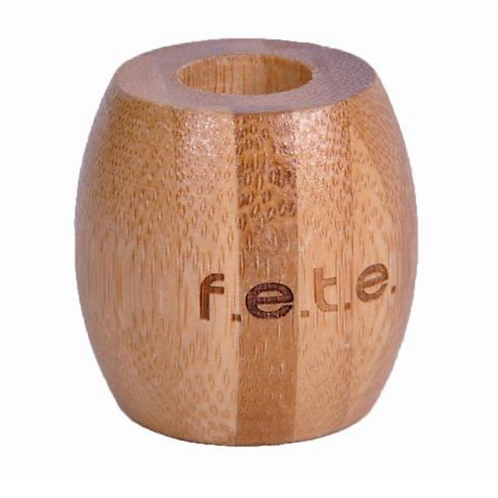 F.E.T.E. Bamboo Toothbrush Stand Single