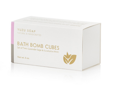 Yuzu Bath Bomb Cubes