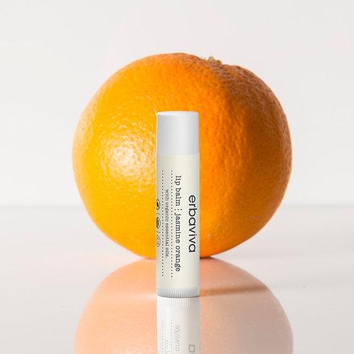 Erbaviva Jasmine Orange Lip Balm