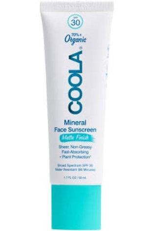 Mineral Face Sunscreen Matte Finish SPF 30