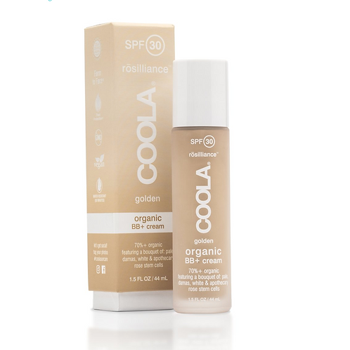 Coola BB+ Cream Tinted Organic Sunscreen SPF 30 GOLDEN