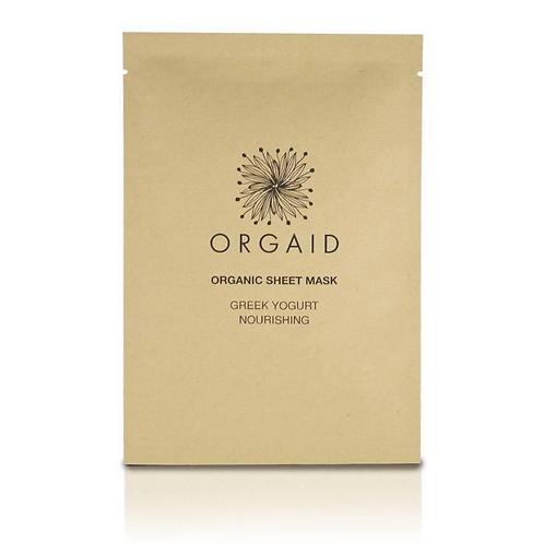 Orgaid Single Greek Yogurt & Nourishing Sheet Mask