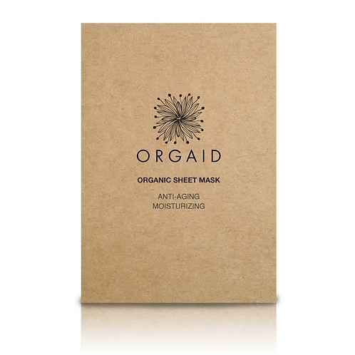 Orgaid Single Anti-Aging & Moisturizing Sheet Mask