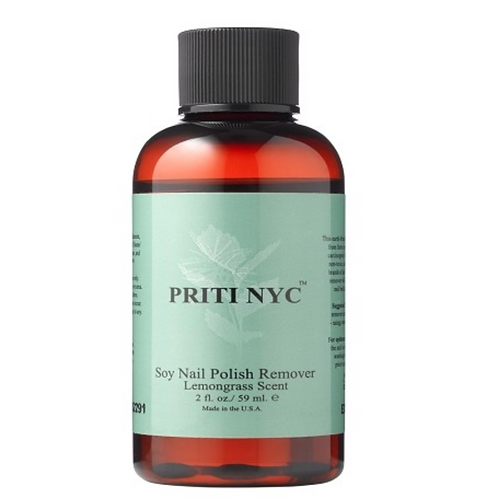 Priti NYC Soy Nail Polish Remover Lemongrass