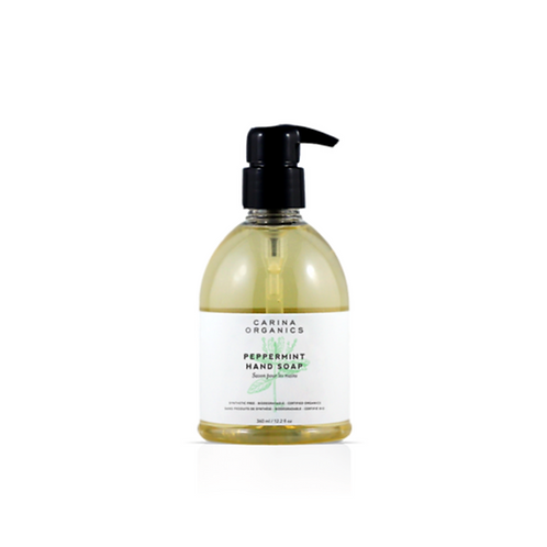 Carina Organics Peppermint Hand Soap