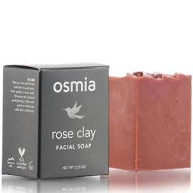 Osmia Rose Clay Facial Soap