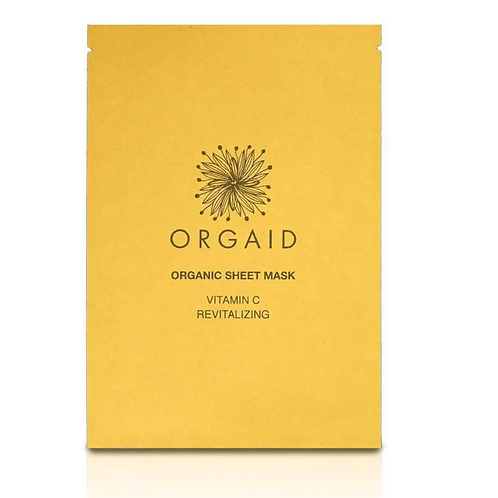 Orgaid Single Vitamin C & Revitalizing Sheet Mask