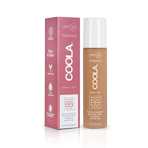 Coola BB+ Cream Tinted Organic Sunscreen SPF 30 MEDIUM/DARK