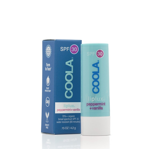 COOLA Liplux SPF 30 Peppermint Vanilla