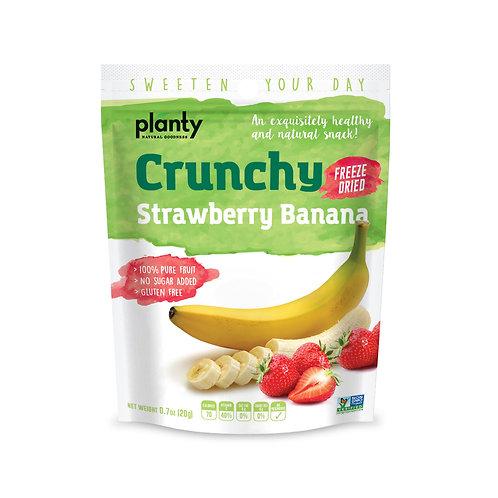 Crunchy Strawberry & Banana