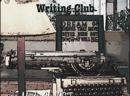You're invited (There's a new writing club in town)