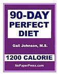 90-Day Perfect Diet - 1200 Calorie eBook