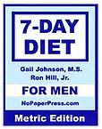 7-Day Diet for Men - Metric Edition eBook