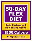 50-Day Flex Diet - 1500 Calorie eBook