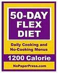 50-Day Flex Diet - 1200 Calorie eBook