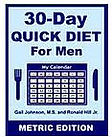 30-Day Diet for Men - Metric Edition eBook