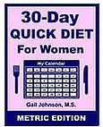 30-Day Diet for Women - Metric Edition eBook