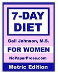 7-Day Diet for Women - Metric Edition eBook