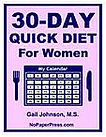 30-Day Quick Diet for Women eBook