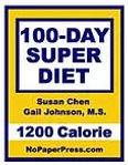 100-Day Super diet - 1200 Calorie eBook