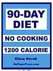 90-Day No-Cooking Diet - 1200 Calorie eBook