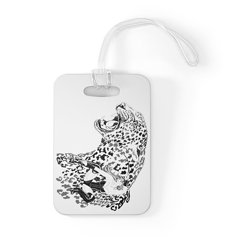Phoenix the Jaguar Bag Tag