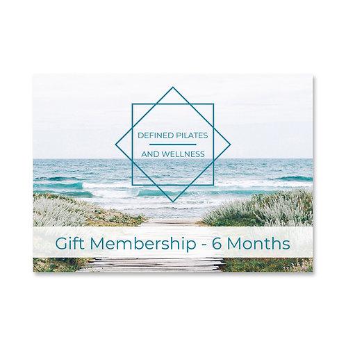 6 Months Gift Membership
