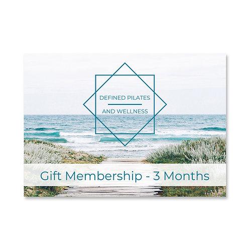 3 Months Gift Membership