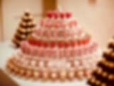 Sweet Shot Tower & Ferrero Rocher pyramids