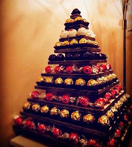 10-tier Ferrero & Lindt Pyramid