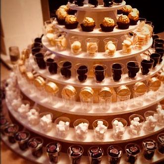 Black & Gold Sweet Shot Tower