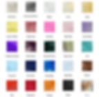 Sample sash colours