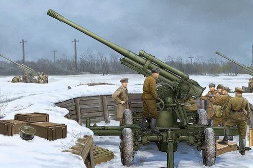 85-мм зенитная пушка 52-К образца 1939 года, ранний выпуск Trumpeter 1:35 02341