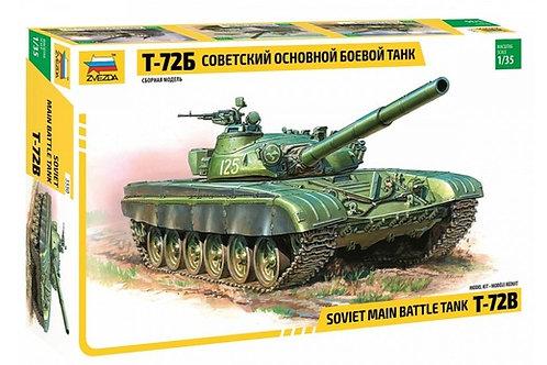 3550 Звезда 1/35 Советский танк Т-72Б