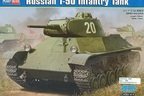 Советский танк Т-50 - Hobby Boss 83827 1:35