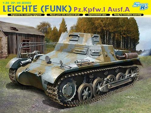 (под заказ) Командирская машина Leichte (Funk) Pz.I Ausf.A - Dragon 1:35 6591