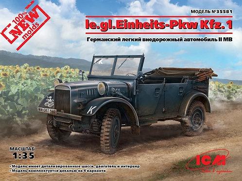 Германский внедорожник le.gl.Einheits-Pkw Kfz.1 - ICM 35581 1/35