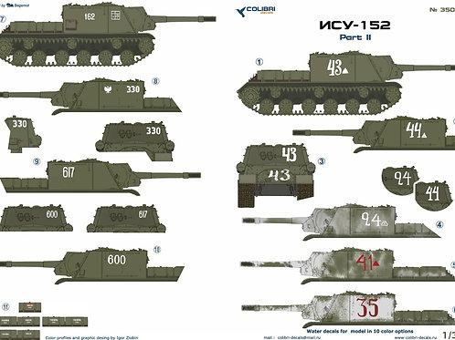 35068 Colibri Decals 1/35 Декали ИСУ-152 советская самоходка, часть 2