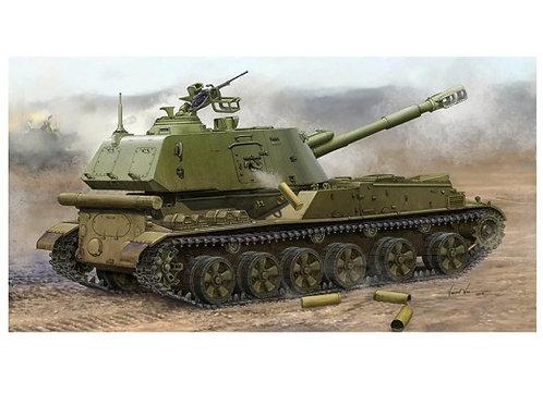 Советская 152-мм гаубица 2С3 Акация, поздняя версия - Trumpeter 05567 1:35