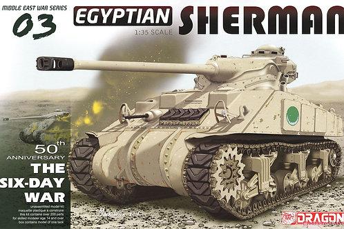 Египетский М4 Шерман / Egyptian Sherman - Dragon 3570 1:35 - под заказ