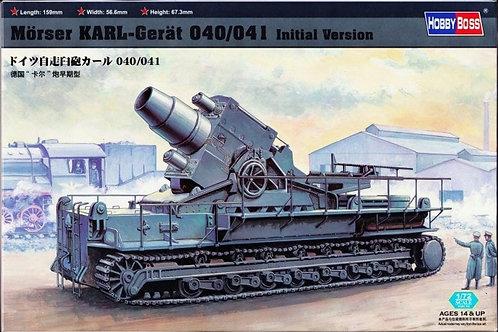 Немецкая мортира Карл Gerät 040/041 предсерийная версия - Hobby Boss 82904 1:72