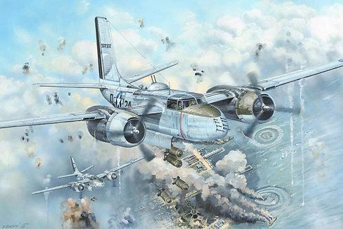 (под заказ) Американский самолет A-26B Invader - Hobby Boss 1:32 83213
