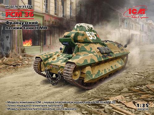 FCM 36, Французский легкий танк II МВ - ICM 35336 1/35