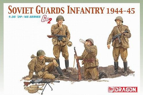 Фигуры Советская пехота Soviet Guards Infantry 1944-45 - Dragon 1:35 6376