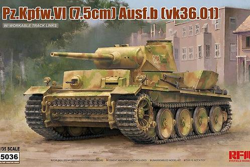 VK36.01 с рабочей подвеской - Rye Field Model 1:35 RM-5036