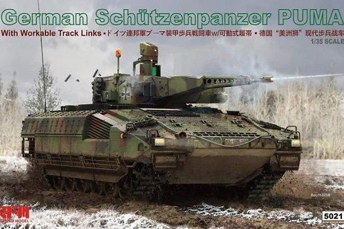 German Schützenpanzer Puma - Rye Field Model 1:35 RM-5021